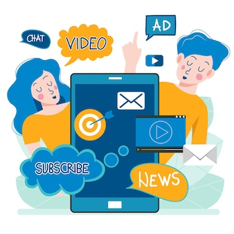 Regularly distributed news publication via email