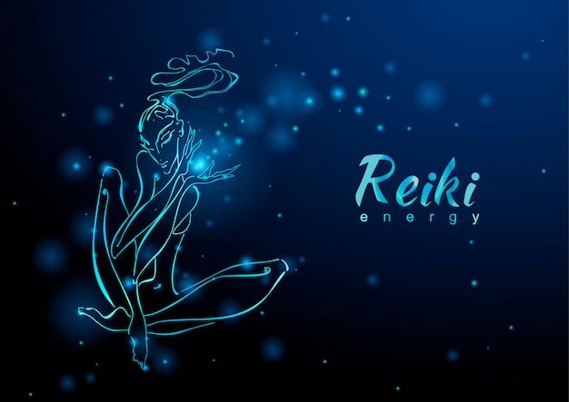 The reiki energy