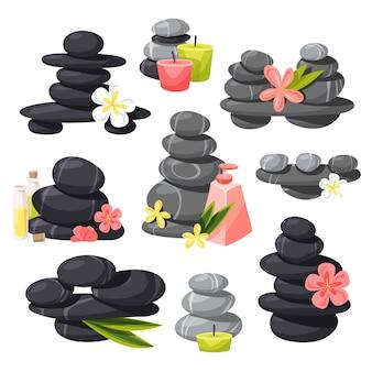 Relax stones  set.