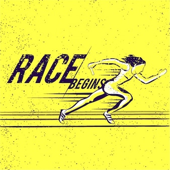 Relay race background