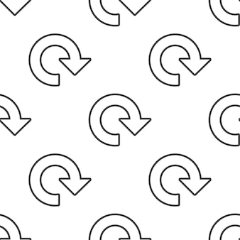 Reload, vector seamless pattern, editable can be used for web page backgrounds, pattern fills