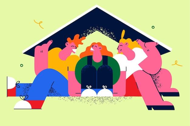 Переезд и покупка новой концепции квартиры