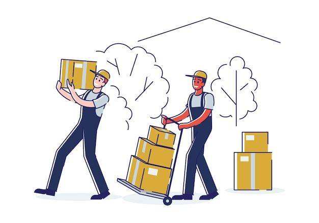 이전 및 새 집 개념으로 이동