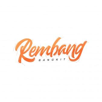 Rembang logotype