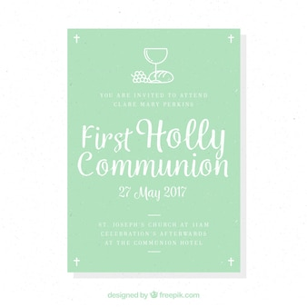 Reminder of first communion