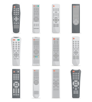 Remote control set for tv or media center