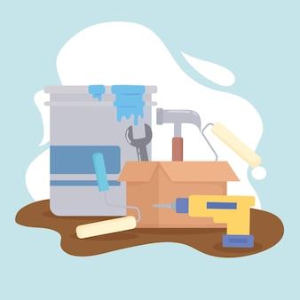 Инструменты для ремонта и ремонта
