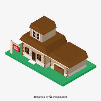Rental house background