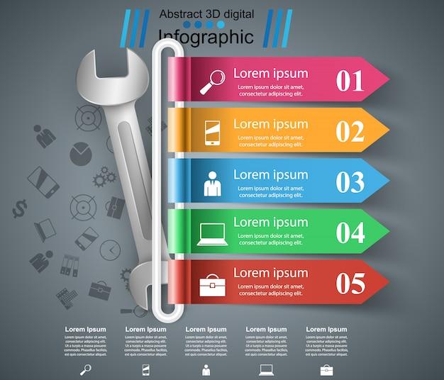 Repair infographic