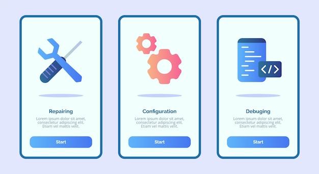Исправление отладки конфигурации для мобильных приложений