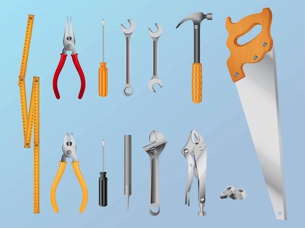 Repairing toolbox tools graphics vector