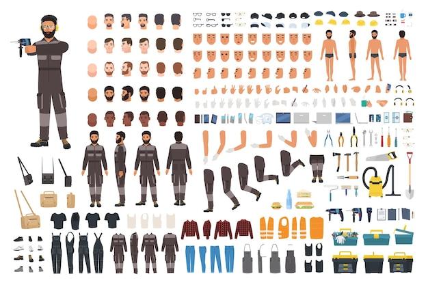 Repairman or serviceman creation kit