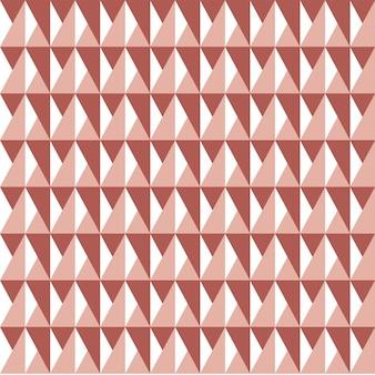 Повторение геометрического треугольника узор фона в красный и белый цвет.