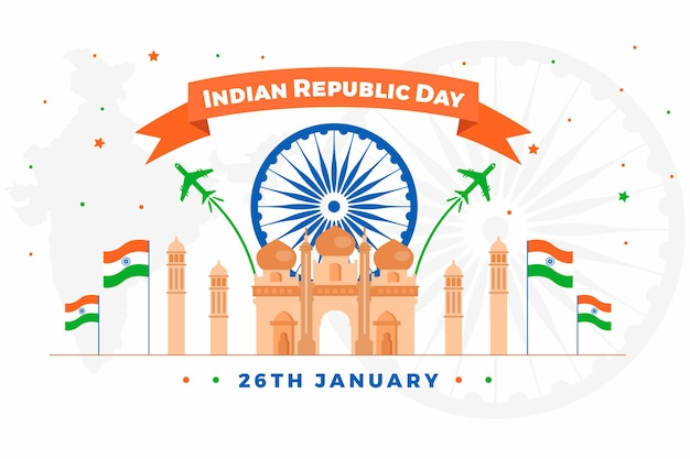 Representative design for india republic day