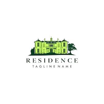 Residence illustration logo