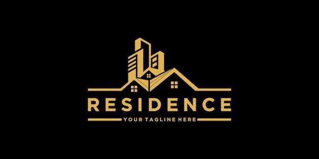 Вдохновение для дизайна логотипа резиденции и визитных карточек