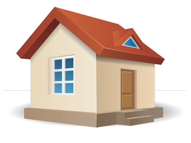 Residential house beige