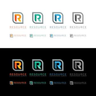 Resource r letter logo