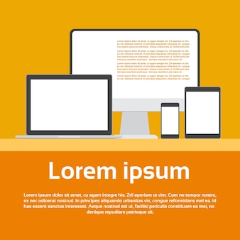Responsive design laptop phone tablet