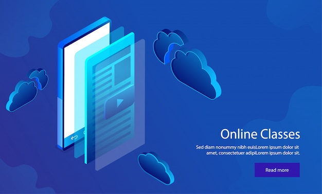Responsive web template design.