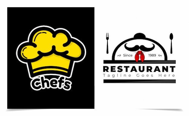 Ресторан и пекарня логотип дизайн логотипа вдохновение