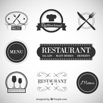 レストランのバッジ