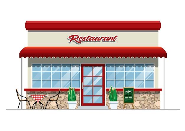 レストランの建物