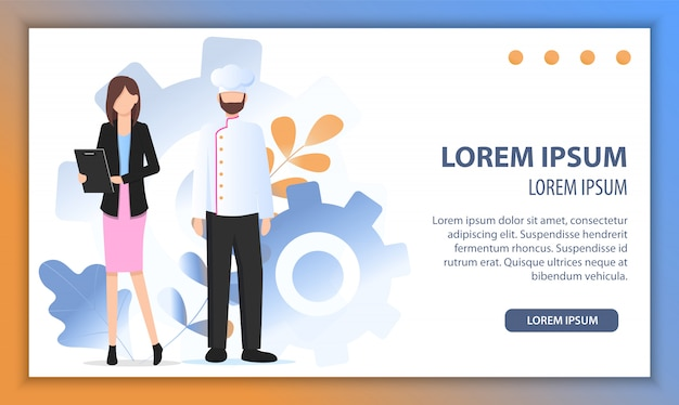 Restaurant chef business growth solution success