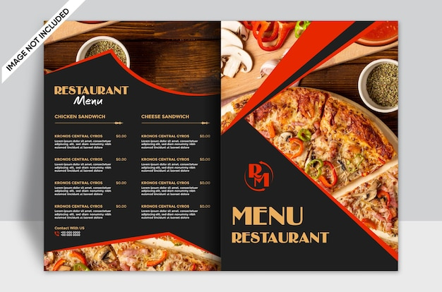 Restaurant food menu modern template