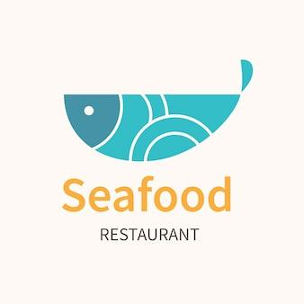 레스토랑 로고, 브랜딩 디자인 벡터를 위한 식품 비즈니스 템플릿