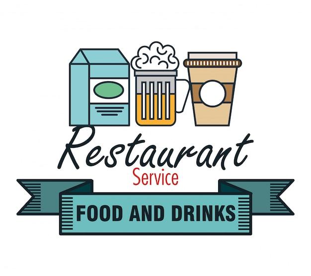 Restaurant menu food design