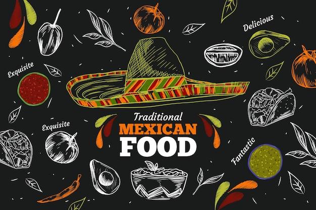 Restaurant mural wallpaper