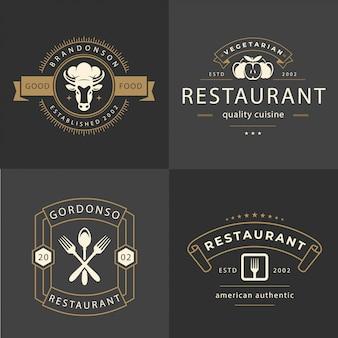 Restaurant ornament logo