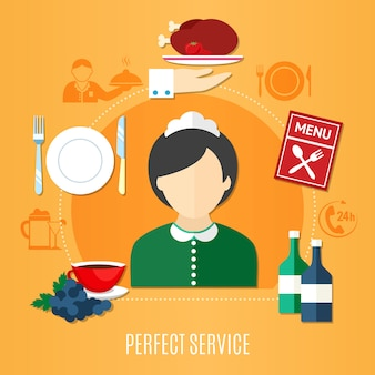 Ресторанное обслуживание