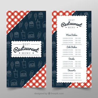 Resturant background design