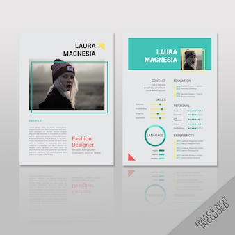 Resume laura lookbook style