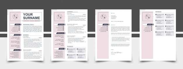 Resume pink color