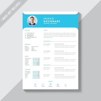 Resume themplate