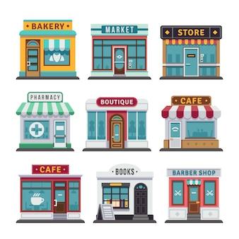 Retail business urban shop store