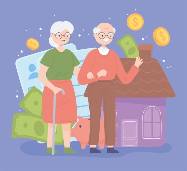 은퇴 부부와 돈