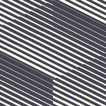 레트로 80 년대 스타일 기하학적 라인 추상 완벽 한 패턴