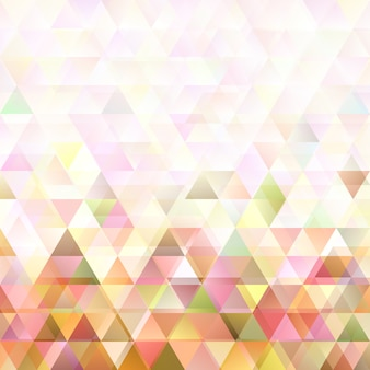 Retro abstract double triangle background design