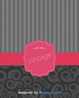 Retro background with classic strips