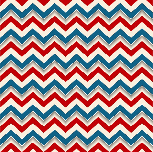 Retro background zigzag lines