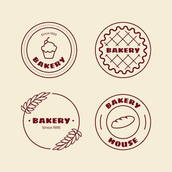 Retro bakery logo