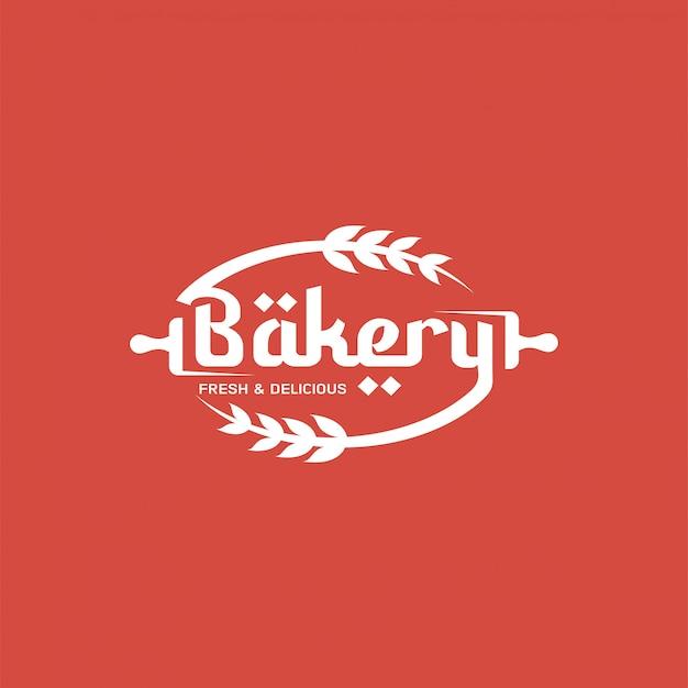 Retro bakery logo