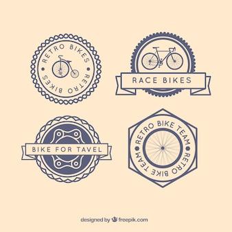 Biciclette retro badge