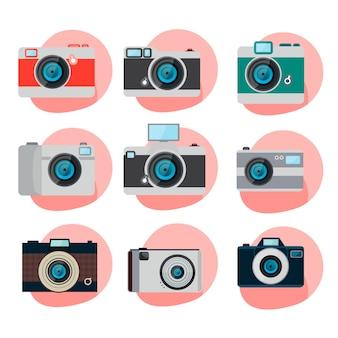 Коллекция ретро камеры