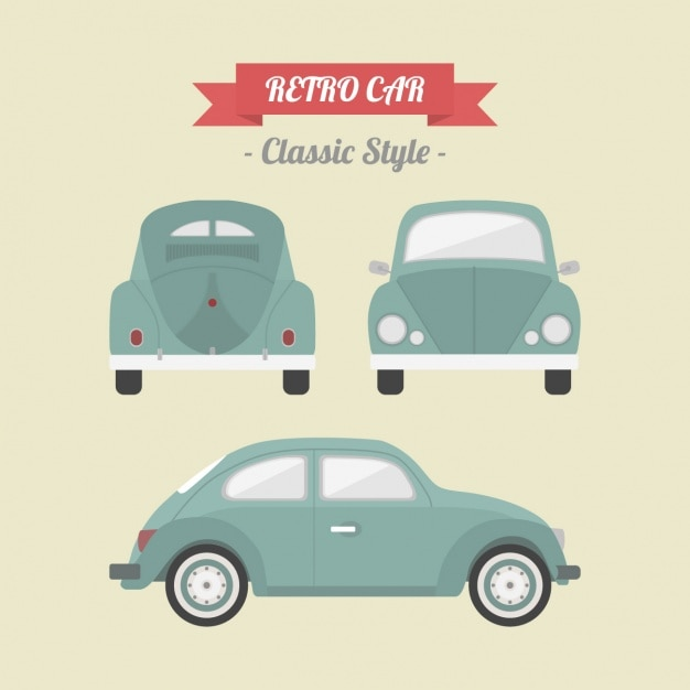 Retro Car Design