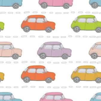 Фон ретро автомобилей